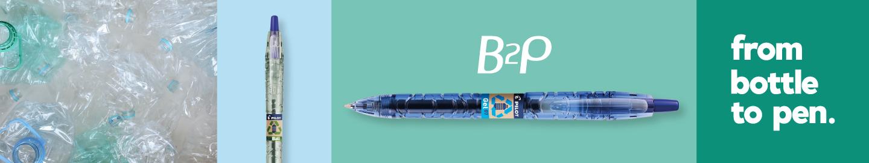 Pilot B2P bottle to pen