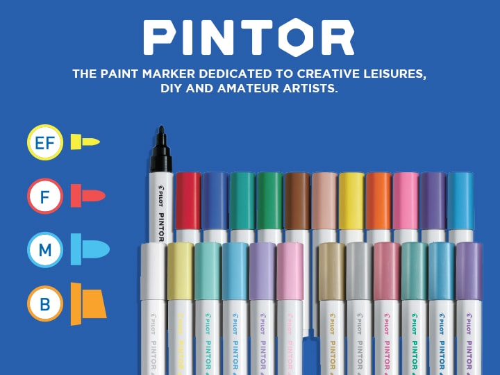 Pilot Pintor multi-surface art marker