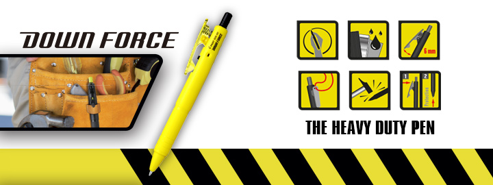 Ballpoint pen Down force by Pilot