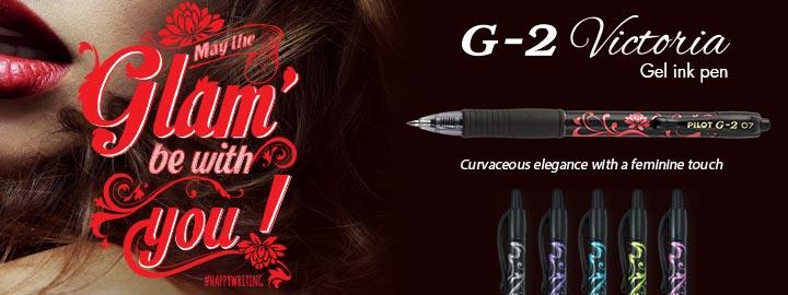 G-2 Victoria - Gel ink rollerball by Pilot