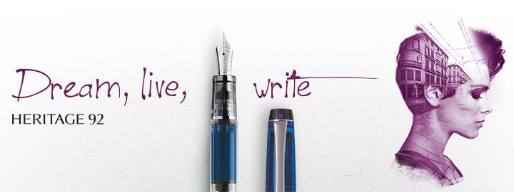 Heritage 92 Blue - Pilot Fine writing