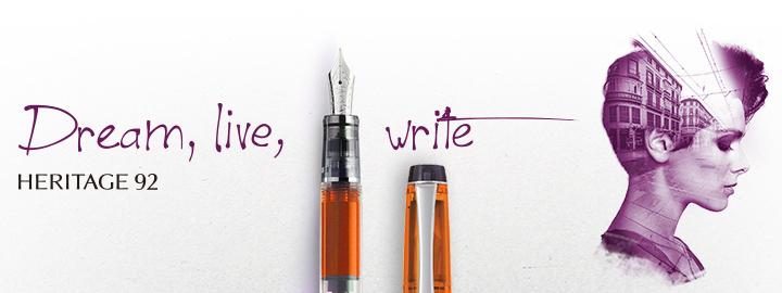 Heritage 92 Orange - Pilot Fine Writing