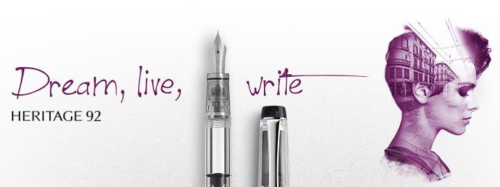 Heritage 92 White - Pilot Fine Writing