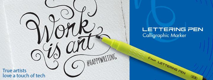 Pilot Lettering pen - Fineliner marker pens
