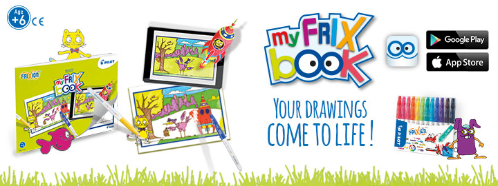 FriXion Colors - My FriX Book by Pilot