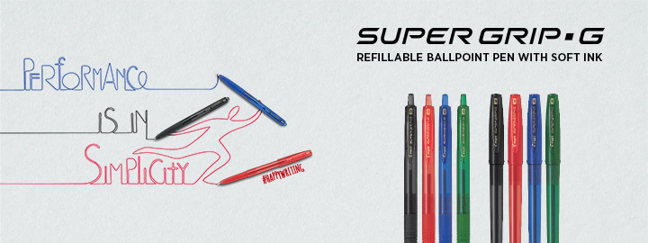 Super Grip G ballpoint pen by Pilot
