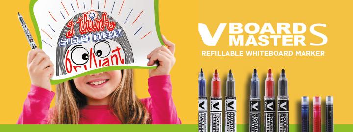 V-Board Master S - Begreen whiteboard marker by Pilot