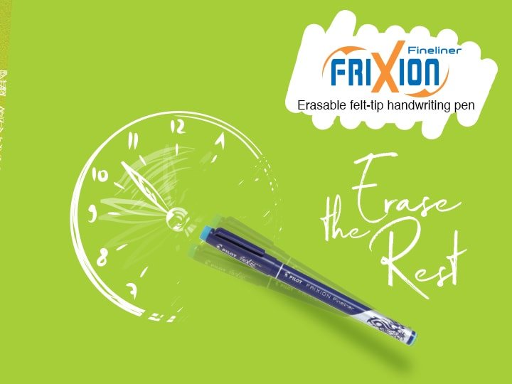 Erasable Marker Pen Pilot FriXion Fineliner