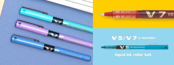 Pilot - V5/V7 Hi-Tecpoint - Liquid ink rollerball