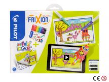 FriXion Colors - Set My FriX Book x 12 - Assorted colours - Medium Tip