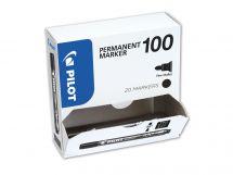 Permanent Marker 100 - Marker - XXL Pack - Black - Fine Bullet Tip