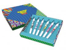 G-2 - Mika Limited Edition Gift Pack - Assorted colors - Medium Tip