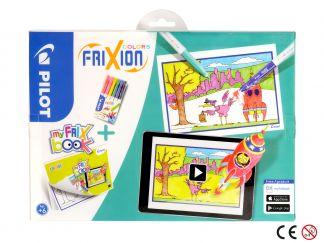 FriXion Colors - Felt Pen - Set FriX Book x 6 - Medium Tip