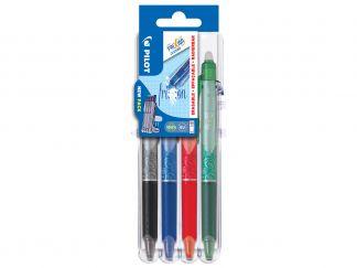 FriXion Ball Clicker 0.5 - Set2Go - 4 pens - Black, Blue, Red, Green - Fine Tip