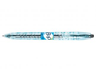 B2P Gel - Gel Ink Rollerball pen - Black - Begreen - Medium Tip